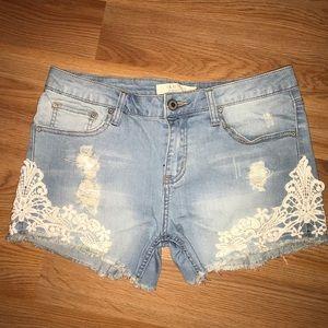 I&M Light Blue Jean Shorts